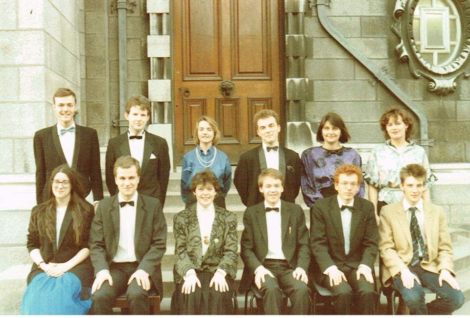 Prizes if you can spot me... 30 years ago